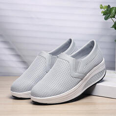 Women's Cloth Mesh Outdoor Athletic With Elastic Band shoes