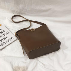 Elegante/Elegante/Vintage/Simples Bolsas de lona/Balde Malas