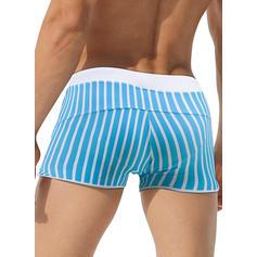 Pour des hommes Stripe Slips de bain Maillot de bain