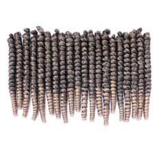 Frisé cheveux synthétiques Tresses 20PCS 70g