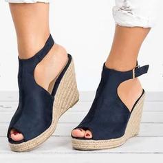 Femmes Similicuir PU Talon compensé Compensée avec Autres chaussures
