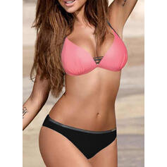 Low Waist Push Up Halter Sexy Fashionable Bikinis Swimsuits