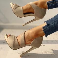 Femmes PU Talon stiletto Escarpins avec La copie Animale chaussures