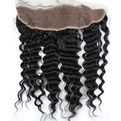 "13""*4"" 5A Deep Human Hair Closure (Sold in a single piece) 100g"