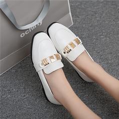 Femmes Similicuir Talon plat Chaussures plates avec Paillette chaussures