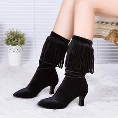 Women's Dance Boots Suede Dance Boots