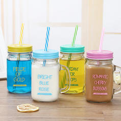 Modern Classic Simple Glass Mason Jars