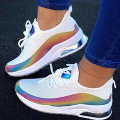 Frauen PU Lässige Kleidung Sportlich Wandern mit Zuschnüren Schuhe