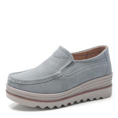 Kvinnor Tyg Flat Heel Platta Skor / Fritidsskor med Andra skor