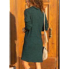 Solid klapa Comod Lungi Rochie pulover