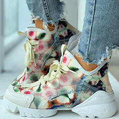 Women's Suede Casual Outdoor With Lace-up shoes