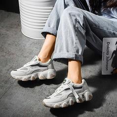 Mulheres PU Casual Outdoor Atlético com Faixa Elástica sapatos