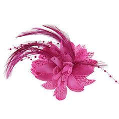 Dames Glamour/Simple/Fait main/Accrocheur Fleur en soie Chapeaux de type fascinator