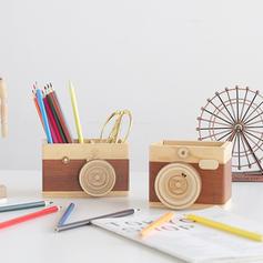 Desktop Wood Storage & Organization