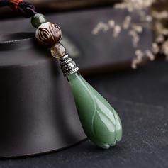 Único Hermoso De moda Precioso Crystal con Resina Collares