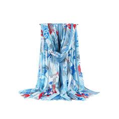 Floral/Borla Ligero/de gran tamaño/atractivo/fresca Bufanda