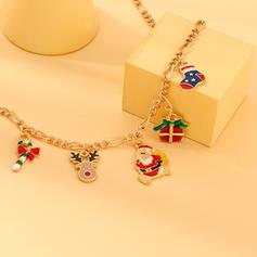 Einzigartig Glänzende Legierung Armbänder Weihnachtsschmuck