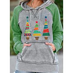 Nyomtatás Hosszú ujjú Karácsonyi pulóver