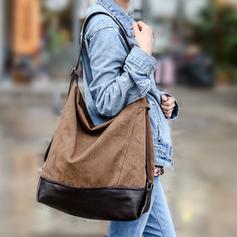 Elegant Canvas Shoulder Bags/Hobo Bags