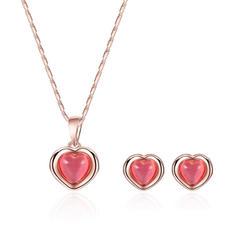 Shining Alloy Opal Women's Jewelry Sets (Set of 2)