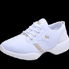 Women's Modern Jazz Sneakers Sneakers Fabric Modern