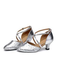 Kvinner Ballrom Hæle Glitrende Glitter Ballrom
