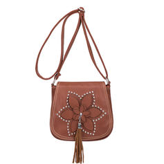 Elegant PU Satchel/Cross-Body Bags