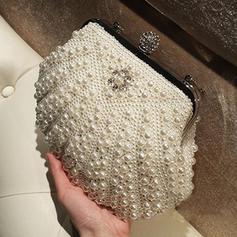 Elegant Imitation Pearl Clutches/Satchel/Totes