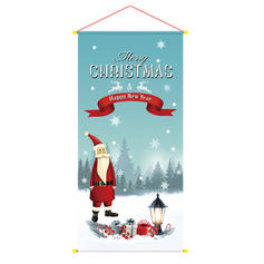 Merry Christmas Cloth Christmas Décor Garden Flag