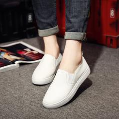 Donna Vera pelle Senza tacco Ballerine scarpe