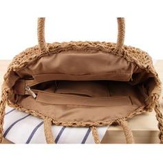 Charming Paper Rope Beach Bags/Bucket Bags