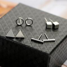 Charmen Hotteste Legering Smykke Sæt øreringe (Sæt af 4)