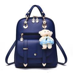 Girly PU Backpacks