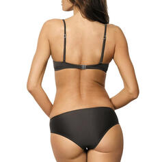 Raya Labor de retazos Cuello redondo Sexy Clásico Bikinis Trajes de baño