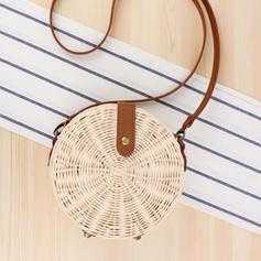 Charming Rattan Crossbody Bags/Shoulder Bags/Beach Bags