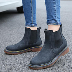 Femmes Similicuir Talon bas Plateforme Bottes Martin bottes avec Autres chaussures
