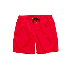 Men's Solid Color Lined Board Shorts