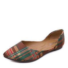 Femmes Tissu Talon plat Chaussures plates Bout fermé chaussures