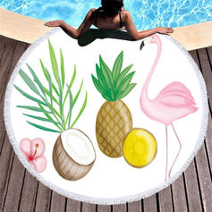 Animal Oversized/round Beach Towel