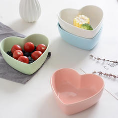 Heart Shape Porcelain Soup Bowls