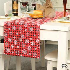 Merry Christmas Polyester Table Runner