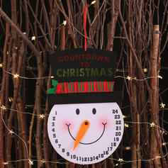 Merry Christmas Snowman Hanging Non-Woven Fabric Christmas Décor
