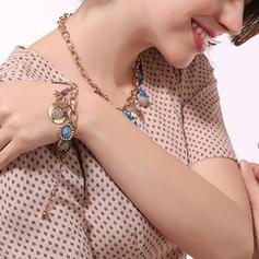 Schöne Legierung mit Juwel Frauen Armbänder