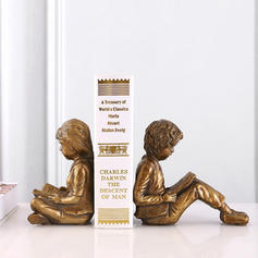 Simple Resin Kid Bookends