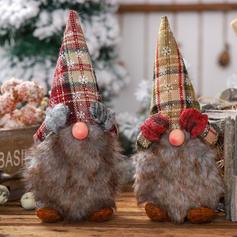 Гном щасливого Різдва Тканина Лялька