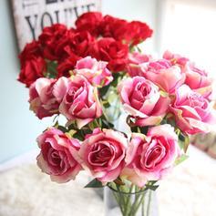 """20.47""""(Approximative 52cm) Des roses Tissu synthétique Fleurs en soie ( ensemble de 3)"""