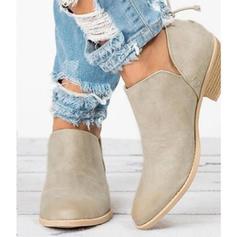Femmes Similicuir Talon bottier Chaussures plates avec Autres chaussures