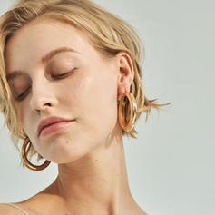 Legierung Frauen Art-Ohrringe