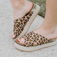 Vrouwen Suede Wedge Heel Sandalen Wedges met Anderen schoenen