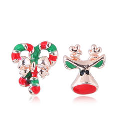 Stylish Alloy Earrings Christmas Jewelry